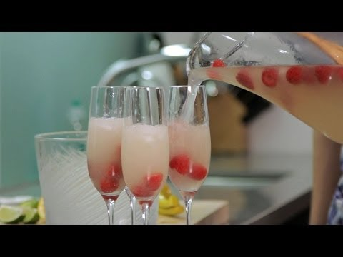 How to Make Champagne Cocktails | Cocktail Recipes