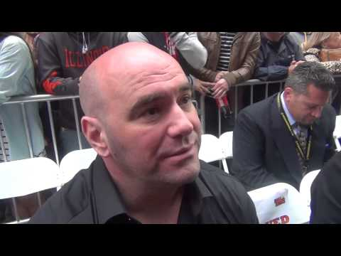 Dana White of UFC at Beat the Streets in Times Square