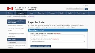 Immigration Québec 2017 : Payer les frais en ligne de la demande de résidence permanente