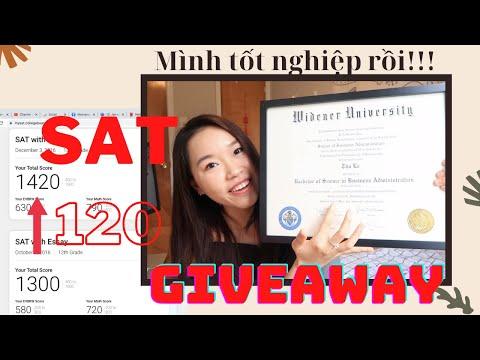 Cách Mình Tăng 120 Điểm SAT Trong 2 Tháng!!! (GIVEAWAY, Mình đã trở lại, Online SAT Series,...)