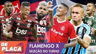 FLAMENGO x SELEÇÃO DO BRASILEIRÃO: Quem tem o MELHOR time? - Mano a mano
