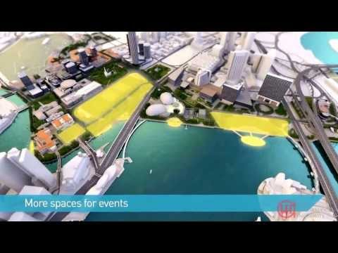 Singapore URA Draft Master Plan 2013 - Civic and Cultural District By The Bay