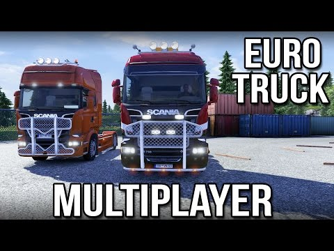 Multiplayer Trucking with Keralis (Euro Truck Simulator 2)