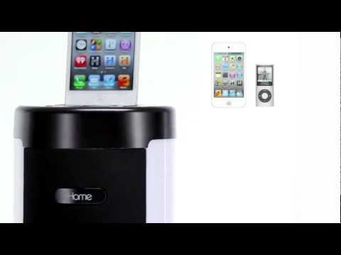 iHome iP76 Bluetooth Tower Stereo Speaker System