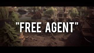 'Free Agent' - Fortnite Montage Feat. Zurky - Edited By Louis FX