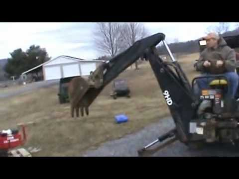 Bradco 9hd Skid Steer Backhoe Attachment For New Holland