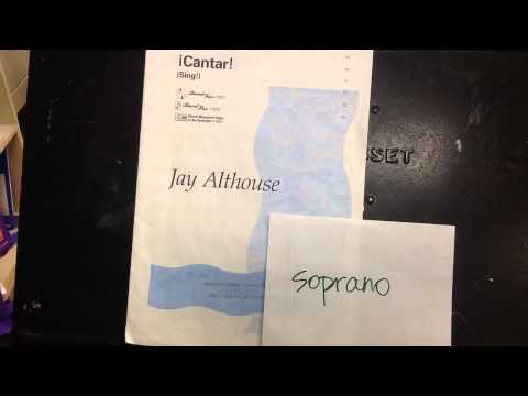 Cantar, by Althouse, soprano