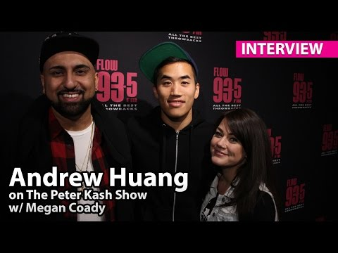 Andrew Huang - FLOW 93-5 Interview