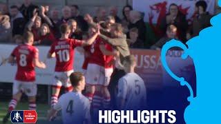 Weston-super-Mare 0-2 Wrexham   Round 1   Emirates FA Cup 2018/19