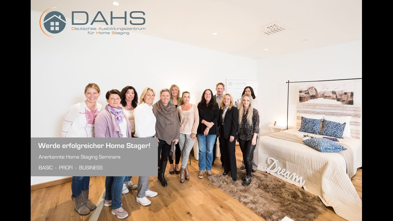 homestaging ausbildung dahs youtube. Black Bedroom Furniture Sets. Home Design Ideas
