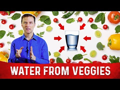 How Much Water Do We Get From Vegetables?