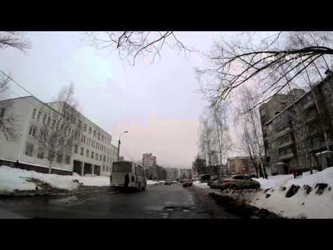 """""""Заволжский район"""" Ярославль. Экзаменационный маршрут ГИБДД"""
