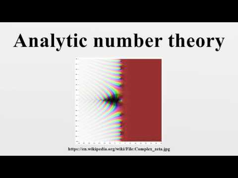 Analytic number theory - YouTube