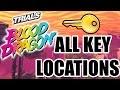 Trials Of The Blood Dragon - All Secret Key Locations