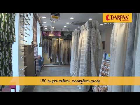 Get Stunning Curtains for your Home| Visit our Store in Hyderabad | Darpan Furnishings