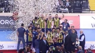 Kupa Voley Şampiyon : Fenerbahçe