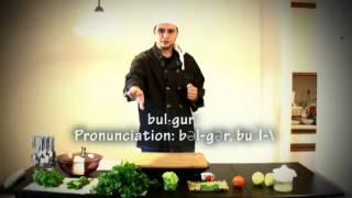 Eating Habits In Ramadan - Tabouli Salad Recipe (pt1/2) Tabbouleh