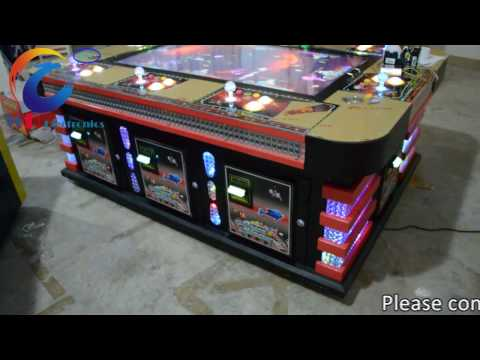 Ocean monster plus Fish hunter game Black Jewel fishing arcade game cabinet with cheap bill acceptor