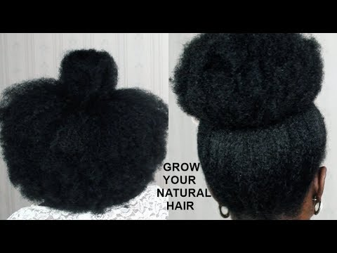 HOW TO Grow Your NATURAL Hair OVERNIGHT TESTED YouTube