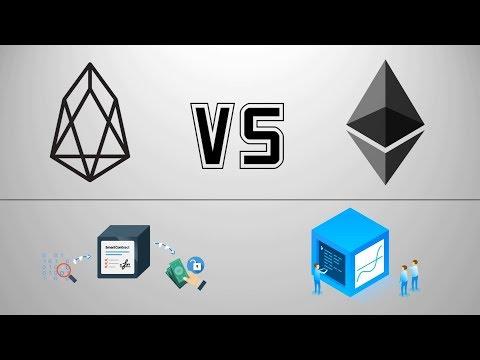 Криптовалюта EOS Vs Ethereum   EOS 2018 Прогноз