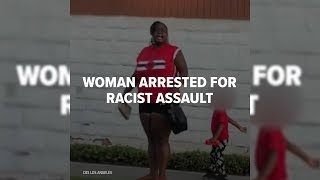 WATCH : Woman Arrested For Racial Assault