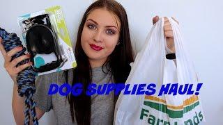 Dog Supplies Haul || Sian Marie