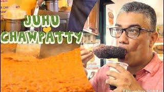 জুহু বিচে মন্দাকিনি কই? - Ultimate MUMBAI STREET FOOD Tour At JUHU CHAWPATTY - INDIAN STREET FOOD