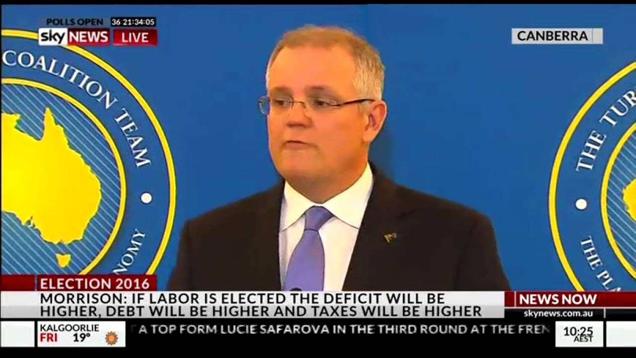 Scott Morrison Press Conference Sky News 10am