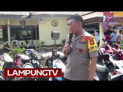 2 Pekan, Puluhan Motor Curian Disita di Lampung Selatan Mp3