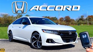 2021 Honda Accord Sport SE // Is the REFRESH Enough to BEAT Camry??