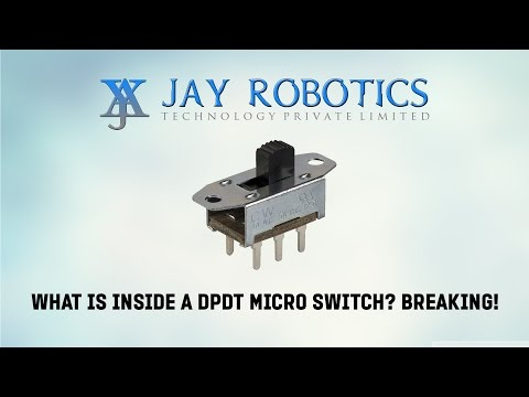18. What is inside a DPDT Micro Switch? Breaking!