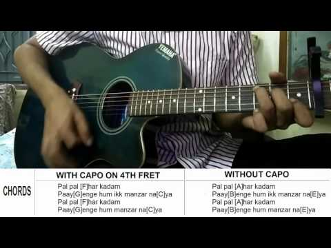 manzar naya - rock on 2 - guitar chords and tabs lesson [without ...