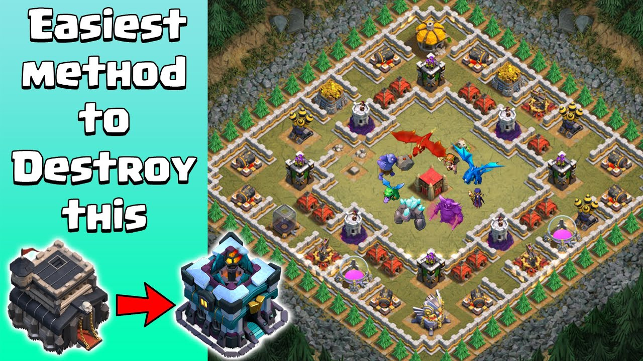 Easiest way to 3 STAR THE ARENA for TH9, TH10, TH11, TH12 & TH13 | Clash of Clans | The Arena Coc