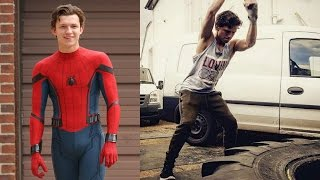 Tom Holland Training For New Spider-Man