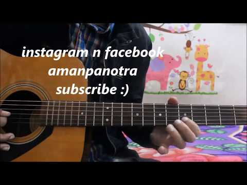 Easiest Romantic Theme - Dairy Milk chocolate Kiss ME - Guitar leads/ tabs lesson hindi