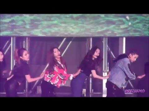 160130 f(x) 4 Dimension - Docking Station - Rainbow (무지개) (fancam)