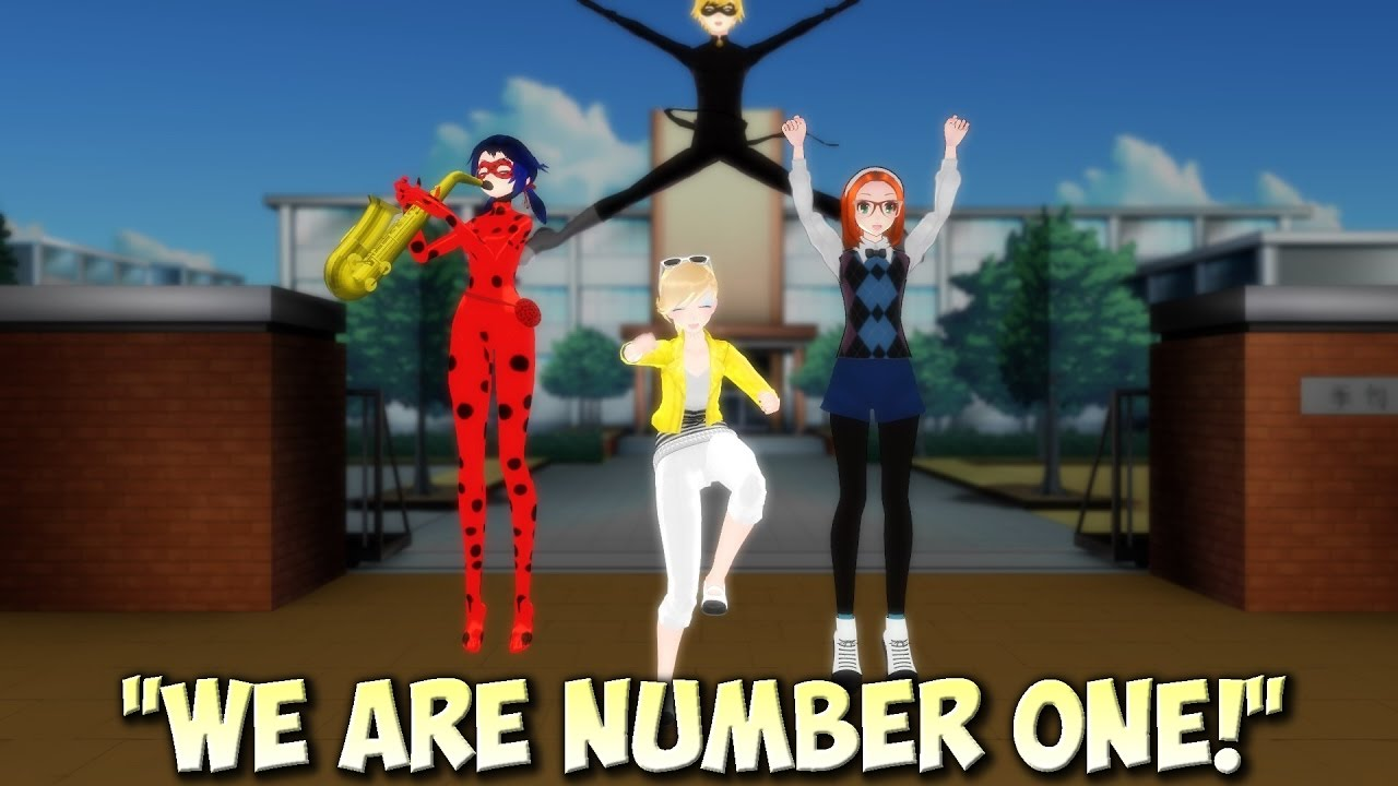Mmd We Are Number One Miraculous Ladybug And Cat Noir Funny
