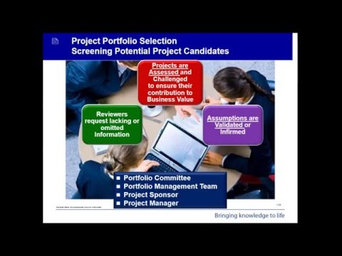 Project Portfolio Management - Webinar