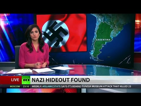 Hidden Nazi bunker discovered deep in Argentinian jungle