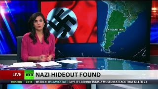 Hidden Nazi bunker discovered deep in Argentinian jungle thumbnail