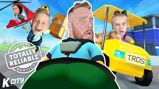 FUNNIEST Game EVER (Totally Reliable Delivery Service #1) K-City Gaming