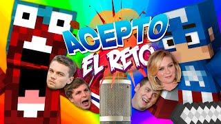ACEPTO EL RETO #29 | ACTORES DE DOBLAJE
