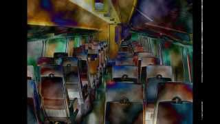 10 Hours Passenger Train / Relaxing / Ambient / Sleep