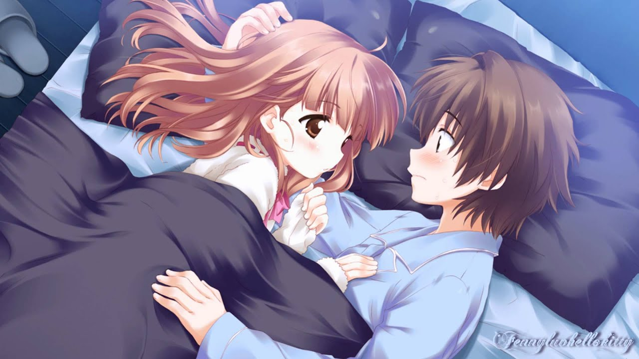 Anime Boy And Girl Couple Wallpaper Nightcore R U Redy Youtube