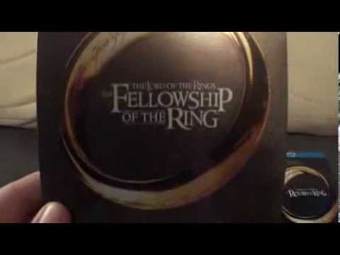 The Lord Of The Rings Extended Edition Blu-Ray Steelbook unboxing