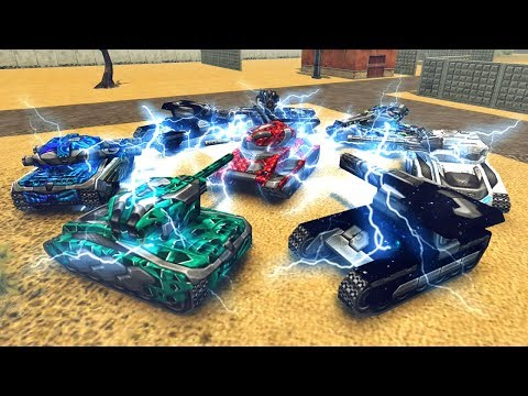 Which Is The BEST OVERDRIVE?   Tanki Online New Update Testing And Review
