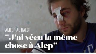 Le photojournaliste syrien Ameer al-Halbi blessé par la police à Paris témoigne