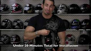 sena smh 10 bluetooth headset review installation at revzilla com