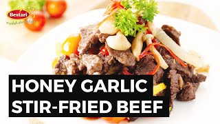 #ResipiBestari 05: Honey Garlic Stir Fried Beef