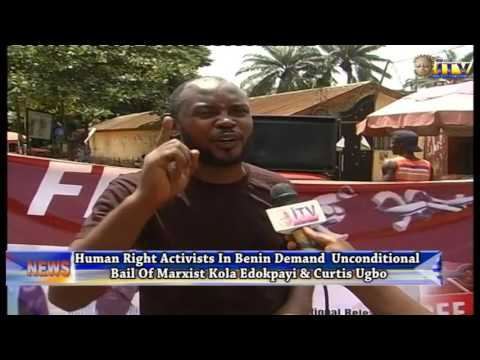 Human Right Activists In Benin Demand Unconditional Bail Of Kola Edokpayi And Curtis Ugbo